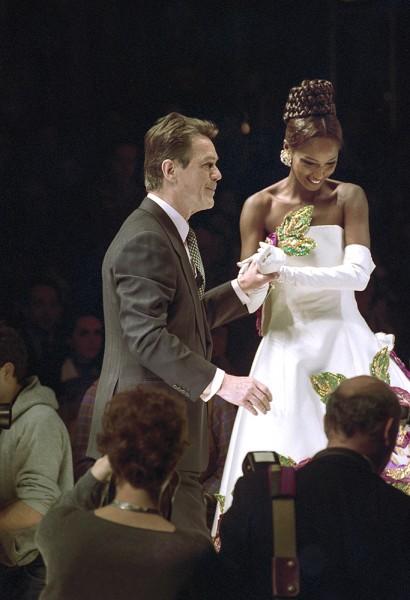 Erik Mortensen at a Fashion Show, Foto Mik Eskestad.