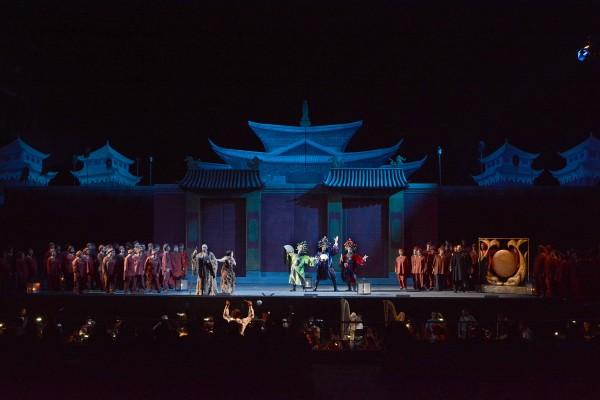 Turandot, Ensemble