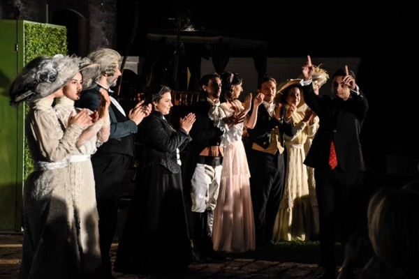 The plot. of Le donne vendicate (The avenged women) is a comic opera by the composer Niccolò Piccinni.