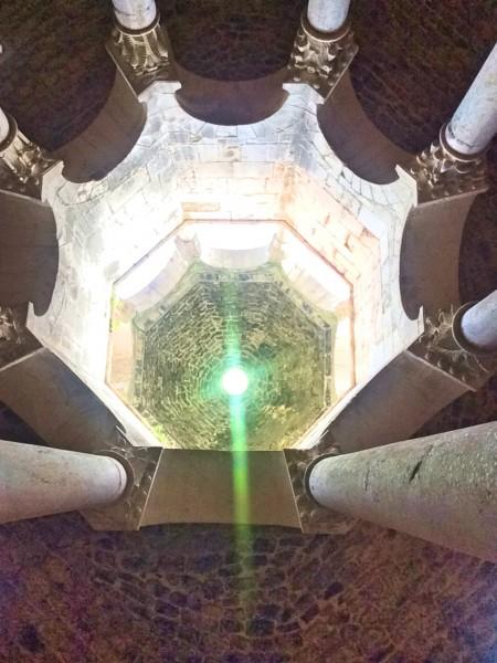 The spectacular roof of the Arab Bath. Foto Henning Høholt