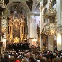 Mozart-mass in St. Peter's in Salzburg. Photo: Torkil Baden