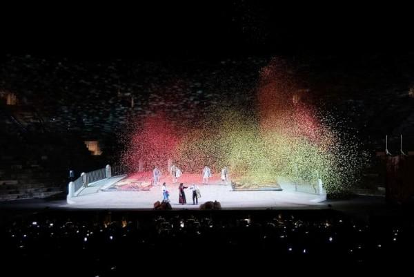 Placido Domingo concert, Arena di Verona, Foto Ennevi
