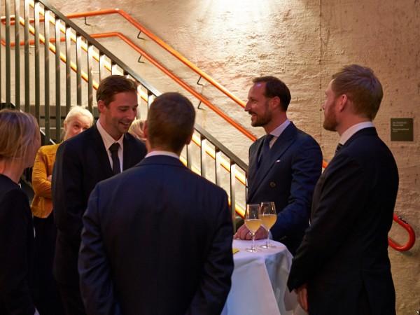 Dagens mottakelse samlet en rekke aktører innenfor norsk musikkbransje  . Foto: Andreas Turau © 2017 Ultima 2017