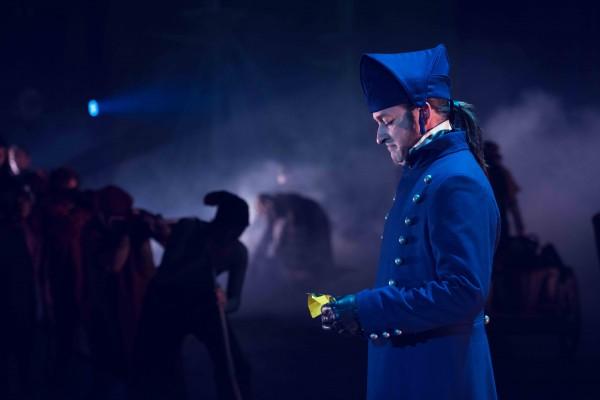 Hans Marius Hoff Mittet som Javert var et høydepunkt i forestillingen.