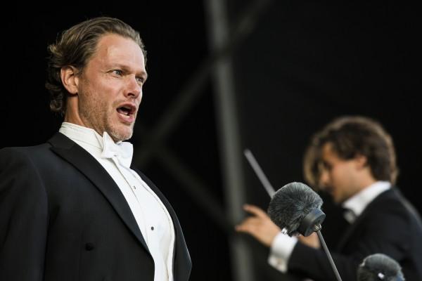 Baryton Palle Knudsen fra Den Kongelige Opera. København.