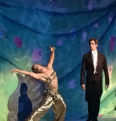 Francesco Gabriela Frola as Nijinsky, as Slave in Schérazade, together with Evan McKie (right). Foto Henning Høholt