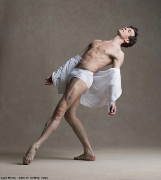 Evan McKie at The National Ballet of Canada shot by Karolina Kuras photography. (Google image)