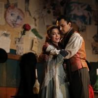 Yana Kleyn and Diego Silva as Mimi and Rodolfo in La Boheme in Metz. 2017