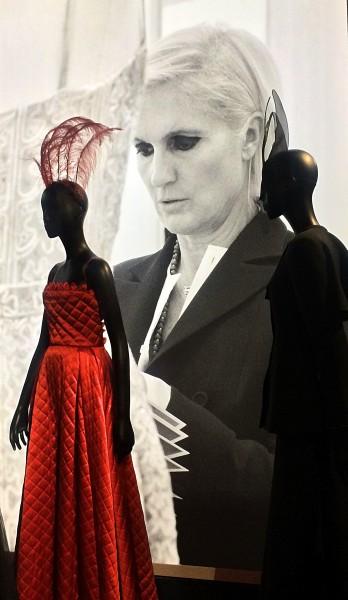 Maria Grazia Chiuri. todays Dior designer. Foto Henning Høholt