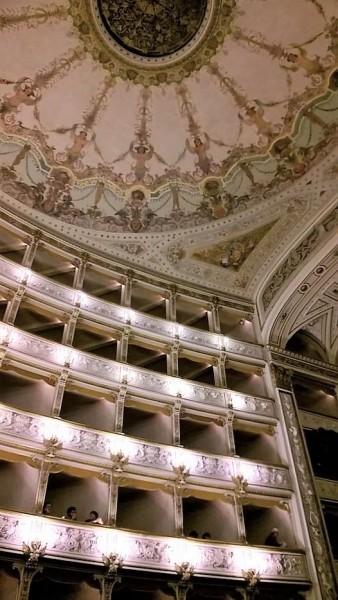 Teatro Verdi in Pisa - Interior. Foto Fabio Bardelli.