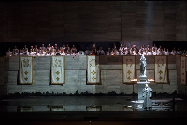 Tosca. Veccia in finale 1st Act