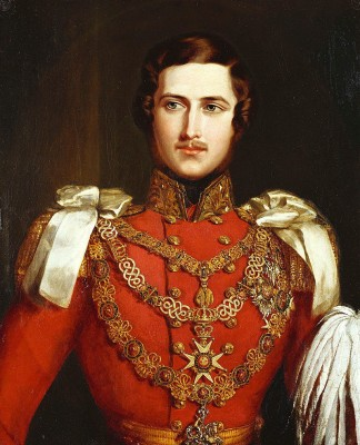 Prince Albert. Portrait by John Partridge, 1840