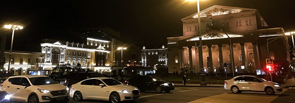 Bolshoi Theatre, Moscow, Foto Romuald Sip