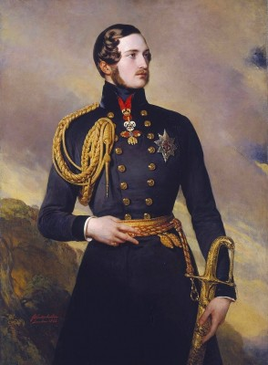 Prince Albert of Coburg, Portrait by Winterhalter, 1842