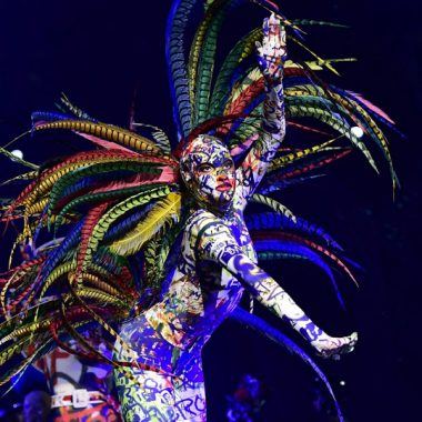 Costumes by Jean Paul Gaultier. Photo: The ONE.