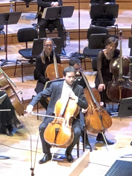 Camille Saint-Saëns, Cello concerto, delicious performed by Jean-Guihen Queyras. Foto Henning Høholt.