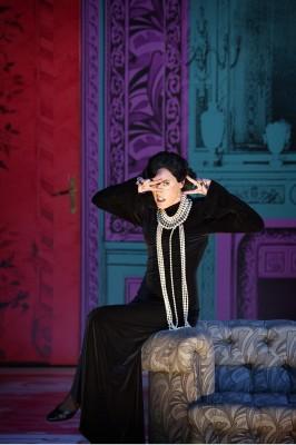 Nicole Chevalier as Die schöne Helena, at Komisches Opera, Berlin